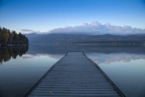 Reflection on Whitefish Lake