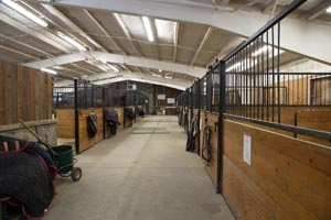 Whitefish Equestrian Center Horse Barn