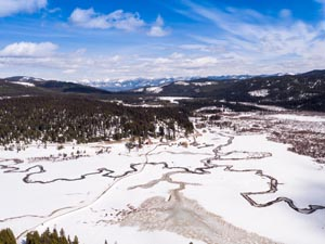 Star Meadows Ranch in Winter