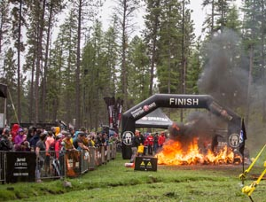 Montana Spartan Race Finish Line