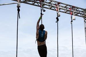 Spartan Race Rope Climb