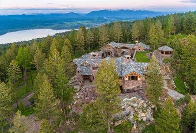 Great Northern Lodge overlooking Whitefish Lake