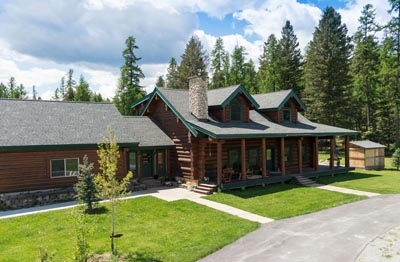 Whitefish Equestrian Center Lodge
