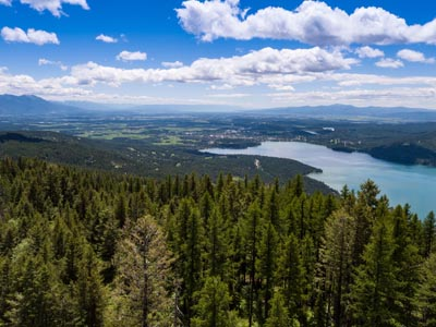 Whitefish Lake View from Elk Highlands III