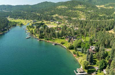 Flathead Lake Lakeside Property