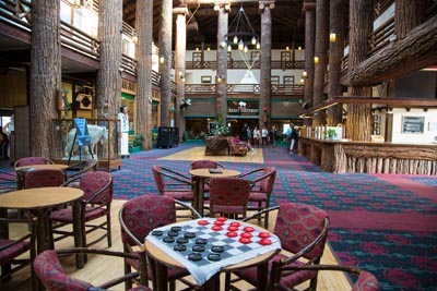 East Glacier Lodge Game Room