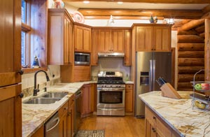 Whitefish Equestrian Center Kitchen Interior