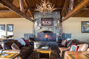 Whitefish Equestrian Center Fireplace