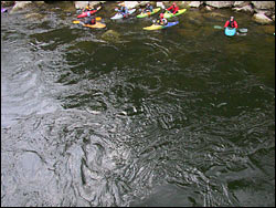 Lochsa River Spring Aerial