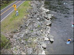 Vanity Lochsa River Spring Aerial