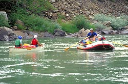 Middle Fork Spring Rafting