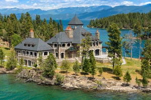 Shelter Island Property For Sale Flathead Lake