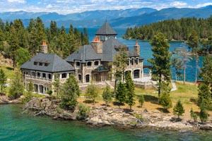Shelter Island Property For Sale Flathead Lake