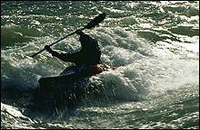 North Fork Flathead Spring Kayaking