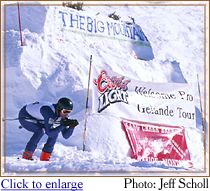 Big Mountain Winter Alpine