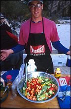 Colorful Salad Salmon River Fall Rafting
