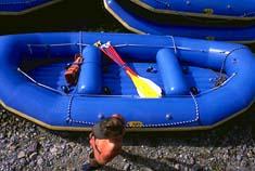 West Glacier, MT Spring Rafting