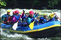 Lochsa River Spring Rafting