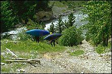Class V Put In Elk River, BC Spring Kayaking