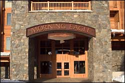 Morning Eagle Entranceway Big Mountain Winter Real Estate