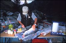Salmon Feast Salmon River Fall Rafting