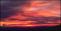 Fires in Idaho Whitefish, MT Summer Landscape