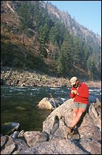 Fly Fishing Salmon River Fall Rafting