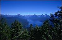 Lake McDonald Summer Landscape