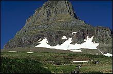 Glacier Park Summer Landscape