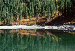 Strawberry Lake Jewel Basin, MT Fall Landscape