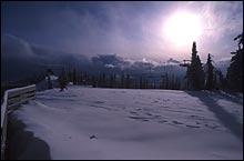 Big Mountain Winter Landscape