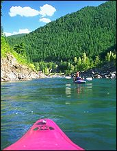 Middle Fork Summer Kayaking